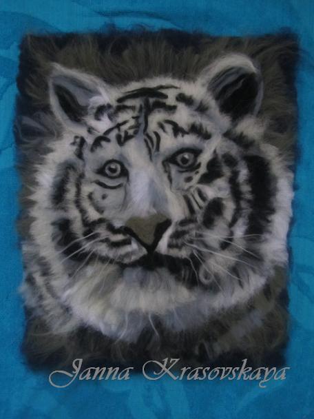 Белый тигр (456x608, 42Kb)