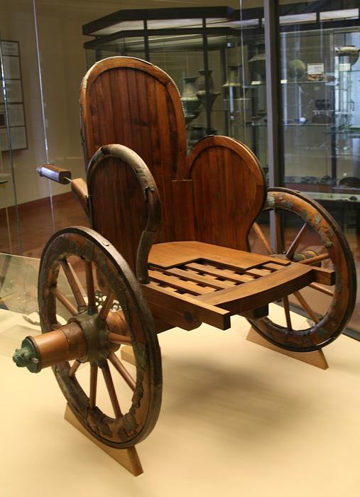 Древняя колесница