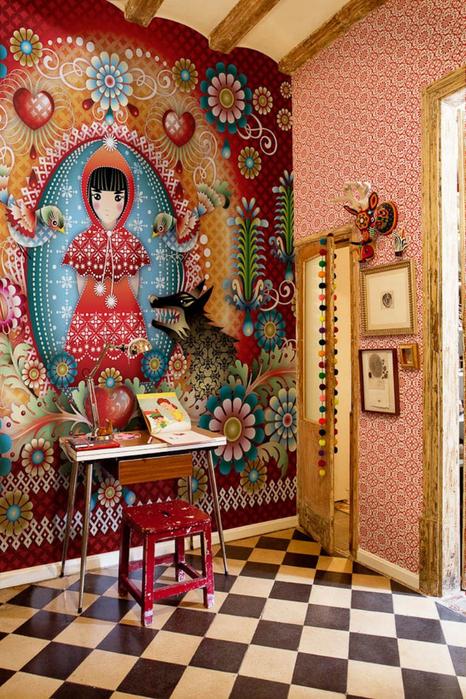 Стильные обои колумбийского дизайнера Каталины Эстрады 3 (466x700, 544Kb)