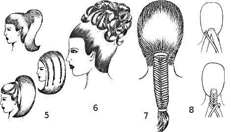 Плетение одной косы из четырех прядей