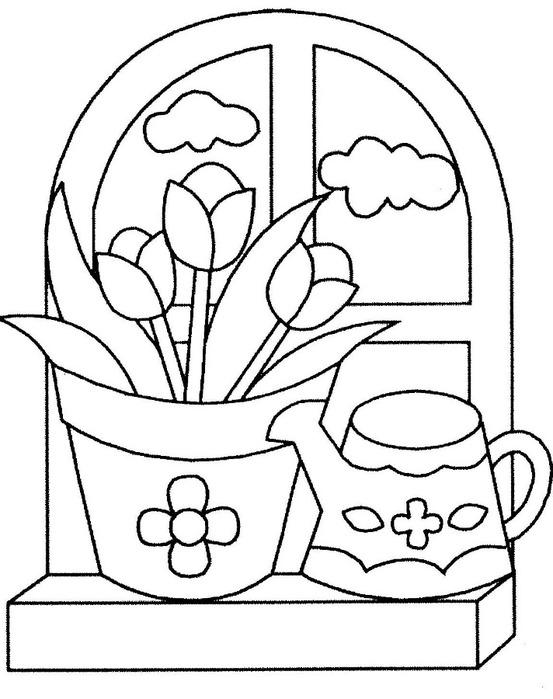 Картинки для рисования цветы 6