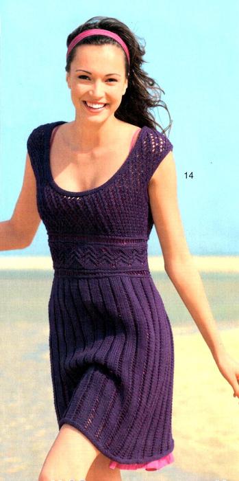 платье фиолет (349x700, 289Kb)