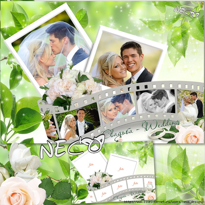 1333542630_Wedding_frame_for_7_photos_on_film_by_Neco (700x700, 425Kb)