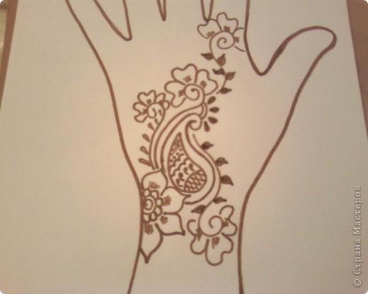 Как рисовать мехенди пошагово