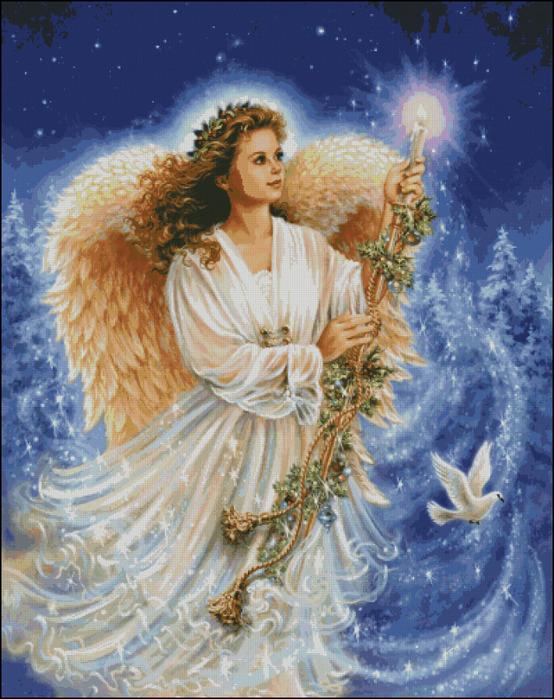 Ангелы. 4 схемы.