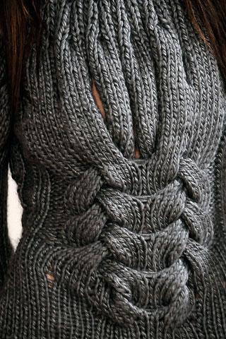 схема вязания комбинезона для малыша.  Вязание на спицах жилет с ромбами.