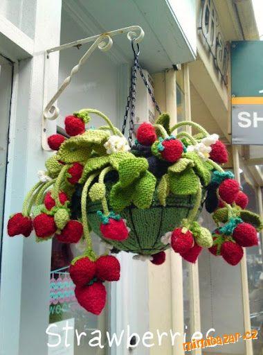 钩针教程:装饰草莓 - maomao - 我随心动