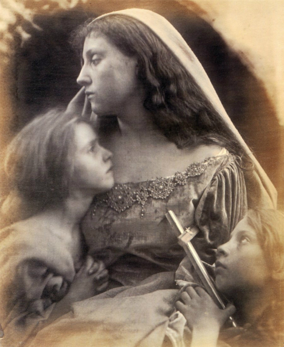 Julia Margaret Cameron A Holy Family 1872 (572x700, 384Kb)