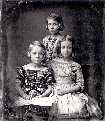 Gustav Oehme Three Young Girls 1845 (348x400, 54Kb)