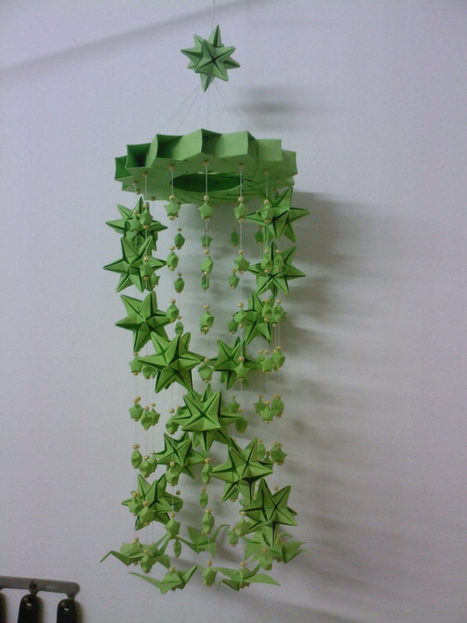 Origami Wind Bell