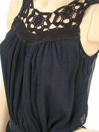 Кружево и вязание в сочетании с тканью.