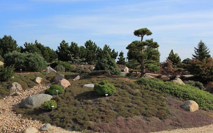 Сад камней Нохтен - Lausitzer Findlingspark Nochten 13309