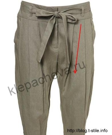 ru - территория женских разговоров. .  К слову сказать, имеет смысл освоить и выкройку брюк галифе...