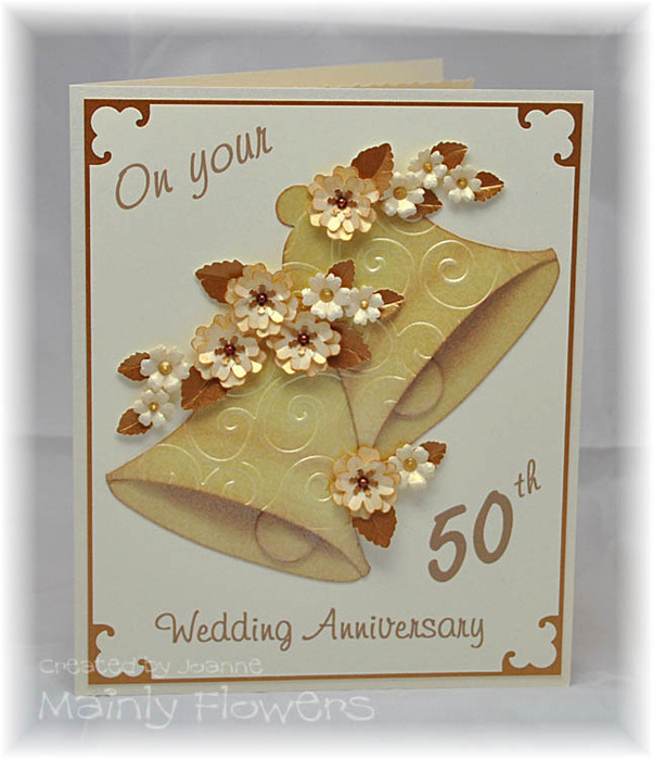 Golden Wedding Card (602x700, 105Kb)
