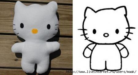 AdorГЎvel-boneca-da-Hello-Kitty-em-feltro1 (450x246, 65Kb)
