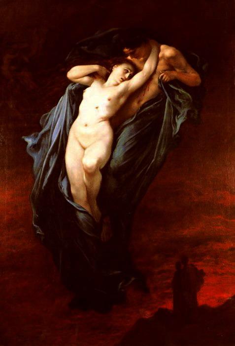 Г. Доре. Паоло и Франческа да Римини (477x700, 60Kb)