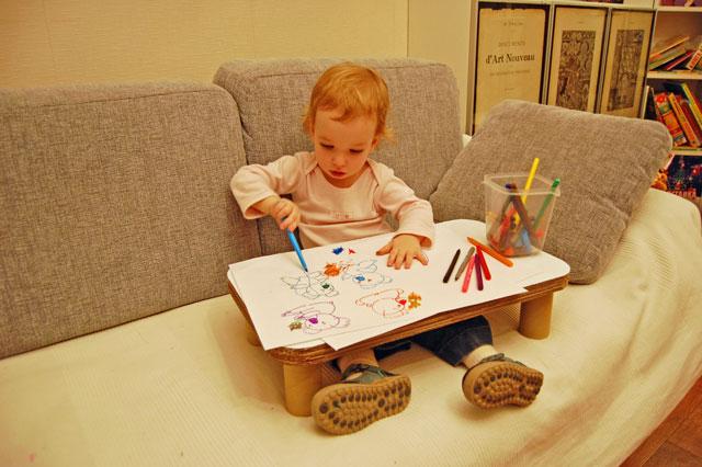 Как сделать стол своими руками для детей