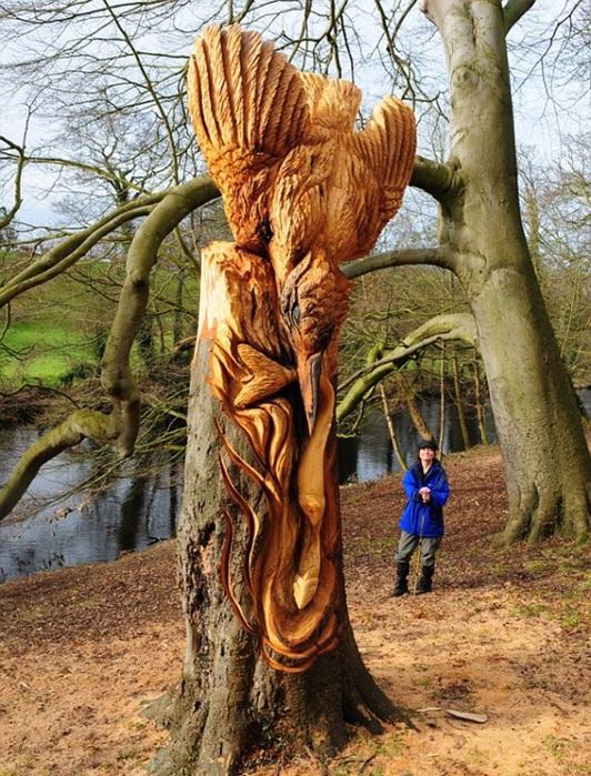 скульптуры и деревья 1 (532x700, 211Kb)