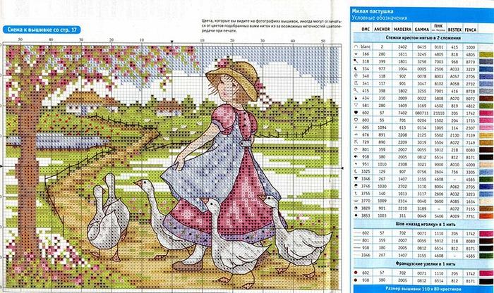Вышивка журналы со схемами