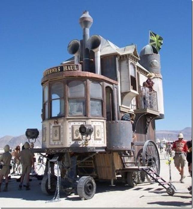 Дома на колесах
