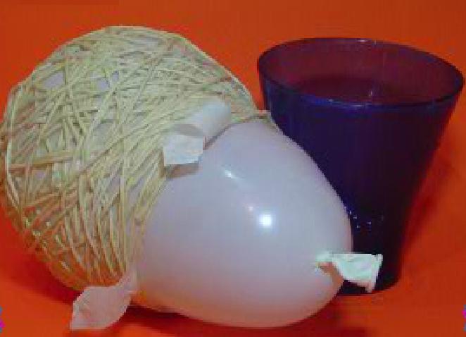 Как сделать с помощью воздушного шара