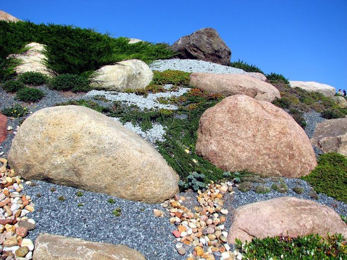Сад камней Нохтен - Lausitzer Findlingspark Nochten 83320