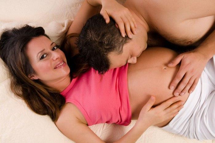 Вреден ли секс во время беременности.