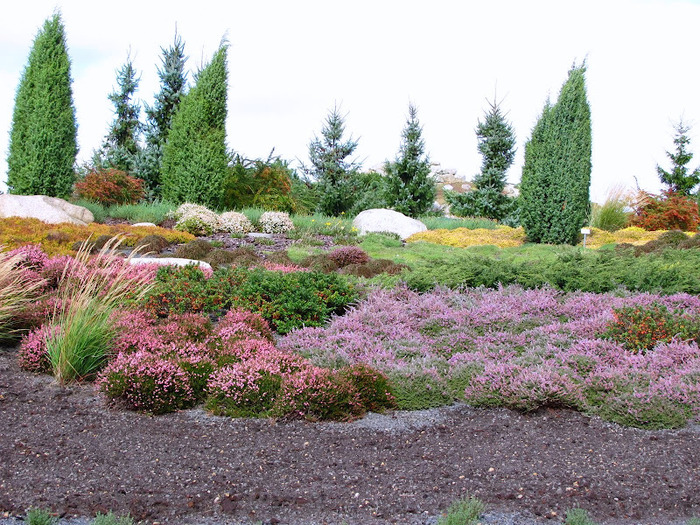 Сад камней Нохтен - Lausitzer Findlingspark Nochten 63764