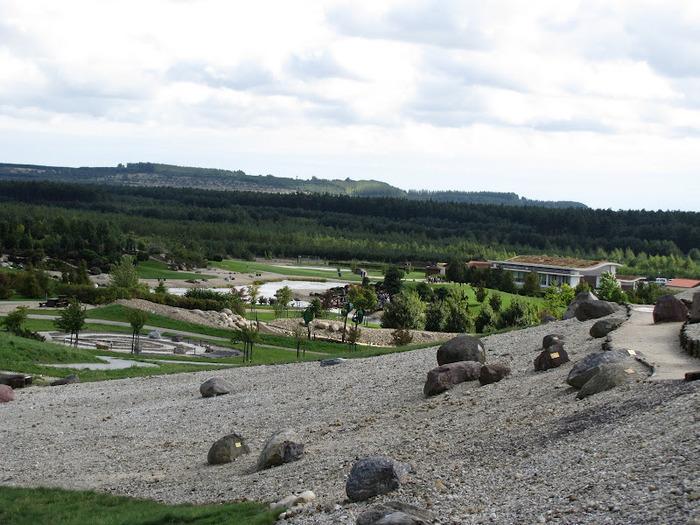 Сад камней Нохтен - Lausitzer Findlingspark Nochten 73240