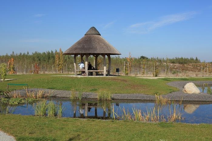 Сад камней Нохтен - Lausitzer Findlingspark Nochten 89884