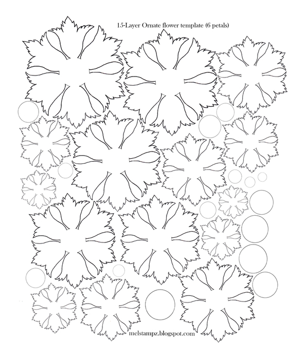6 petal ornate flower template (595x700, 221Kb)