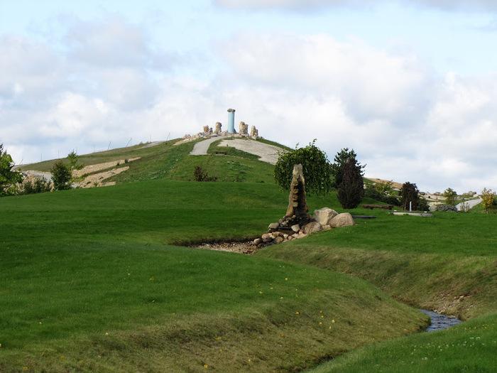 Сад камней Нохтен - Lausitzer Findlingspark Nochten 20028