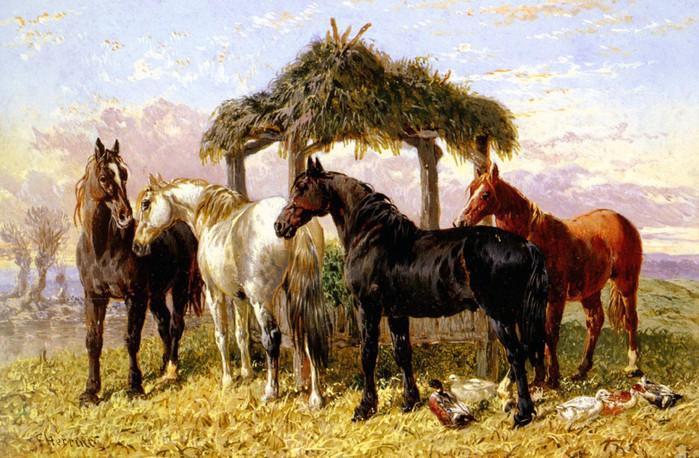Продолжение темы лошадей.