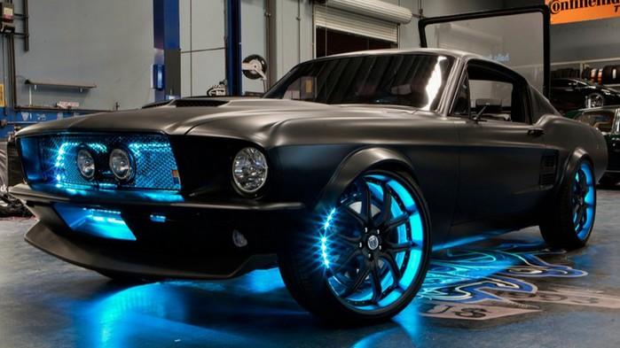 Shelby 1000 новая реинкарнация легендарной модели Ford Shelby gt500 Super Snake 8 (700x393, 72Kb)