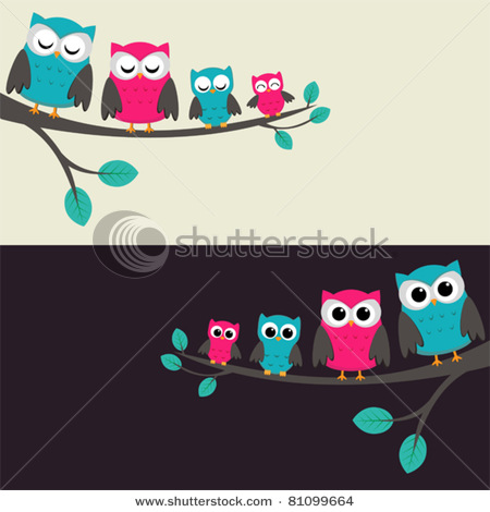 stock-vector-family-of-owls-sitting-on-a-branch-two-variations-81099664 (450x470, 52Kb)