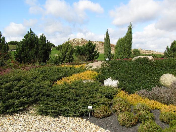 Сад камней Нохтен - Lausitzer Findlingspark Nochten 74249