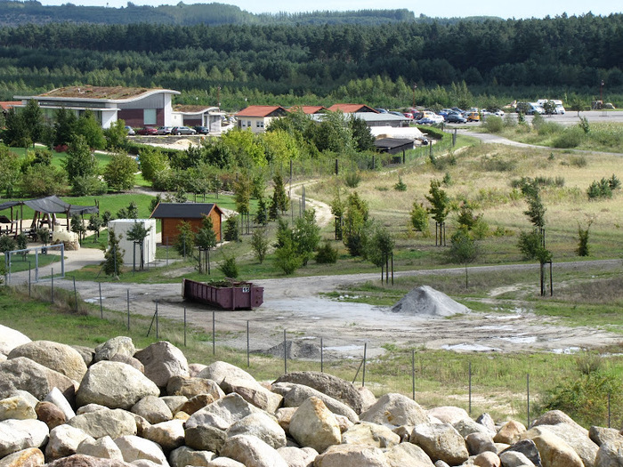 Сад камней Нохтен - Lausitzer Findlingspark Nochten 93579