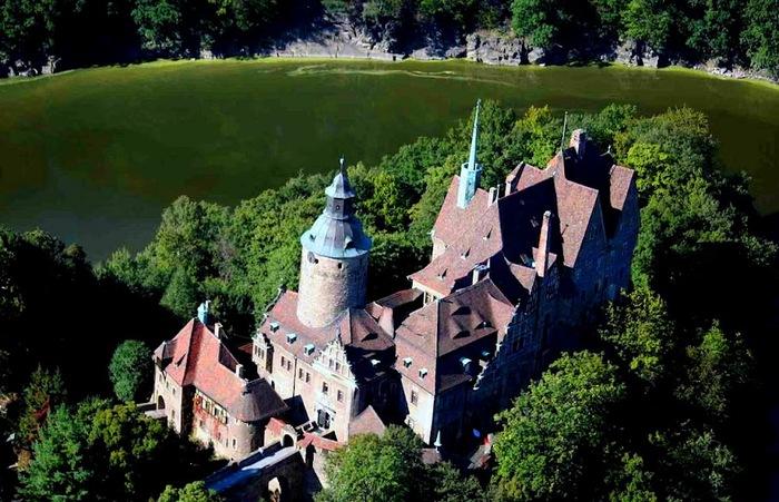 Замок Чоха (Czocha). Польша, Силезия 99370