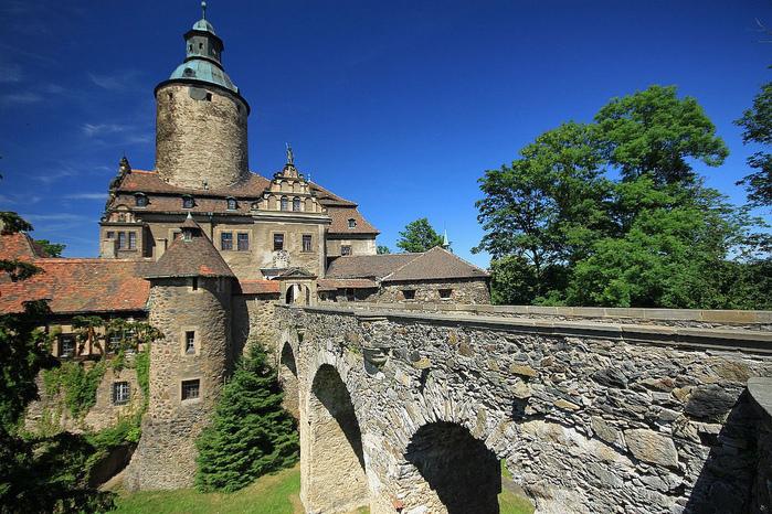 Замок Чоха (Czocha). Польша, Силезия 97395