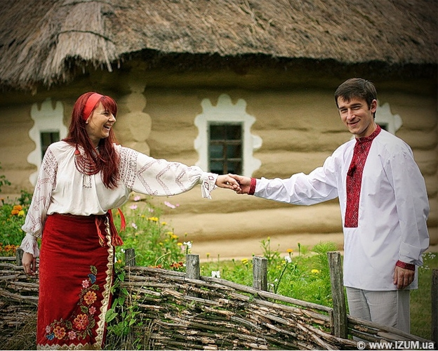Свадьба в украинском народном стиле
