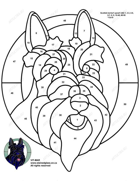 Filename=Scottish_terrier_stained_glass_pattern.jpg Filesize=117KB Dimensions=910x1080 Date added=Oct 31, 2011.