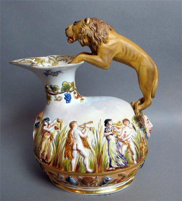 ваза со львом (634x700, 82Kb)