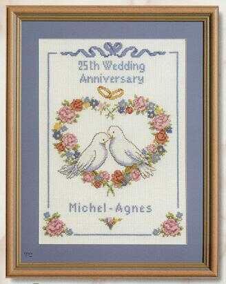 Шесть свадебных схем.