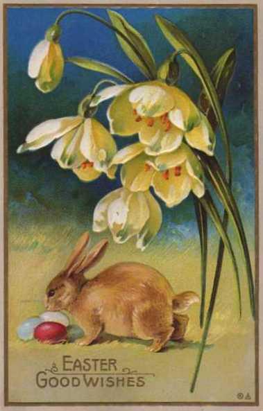 Easter_Bunny_Postcard_1900 (379x593, 30Kb)