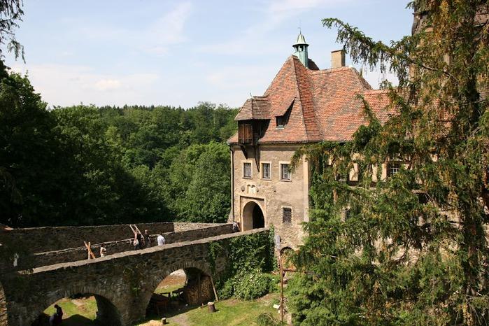 Замок Чоха (Czocha). Польша, Силезия 51088