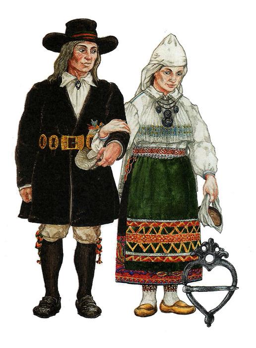 Эстонский Национальный Костюм