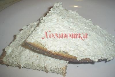 Прибалтийская закуска из селедки с творогом