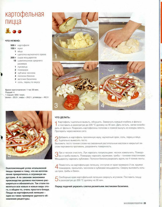 Рецепты пиццы как делать