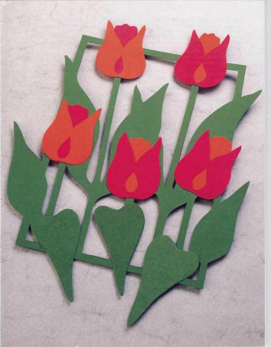 Как сделать тюльпаны своими руками на 8 марта - Stoma Estetica