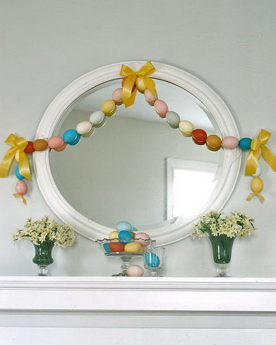 Красивые пасхальные композиции для украшения интерьера к празднику